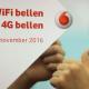Vodafone lanceert maandag het bellen via 4G (VoLTE) en WiFi (VoWIFI)!
